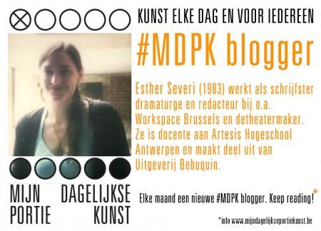 blogger MDPK Esther Severi